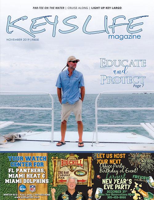 Keys Life Magazine Cover November 2019