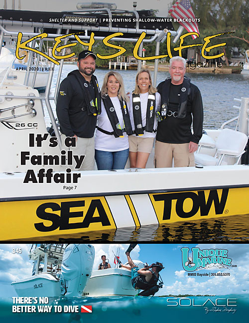 Keys Life Magazine cover April 2020