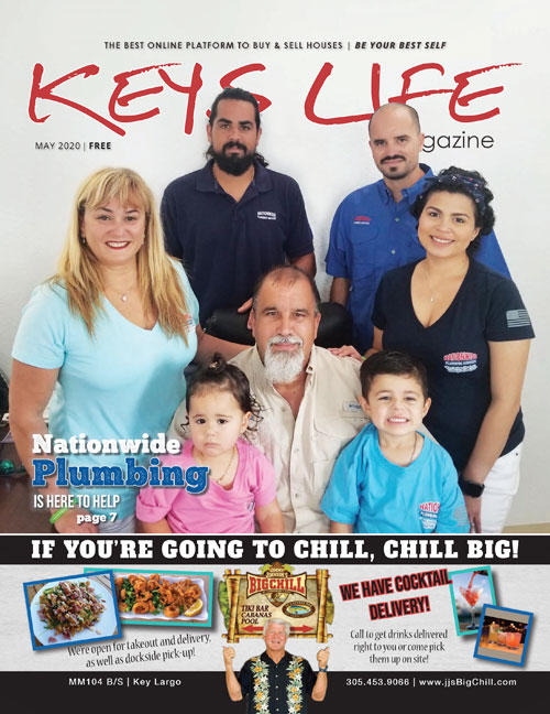 Keys Life Magazine cover May 2020