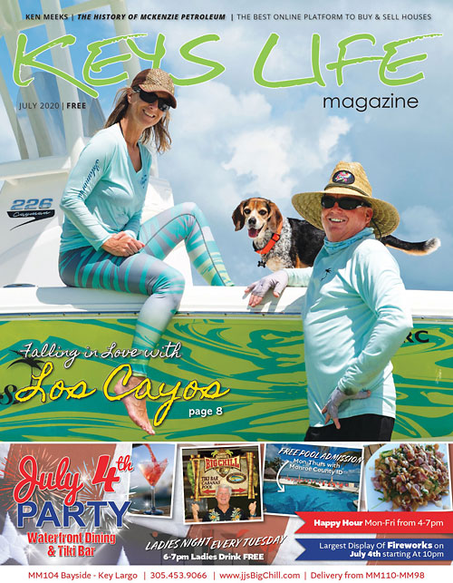 Keys Life Magazine Cover - July 2020
