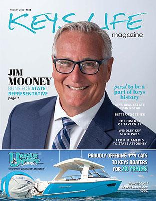 Keys Life Magazine Cover - August 2020