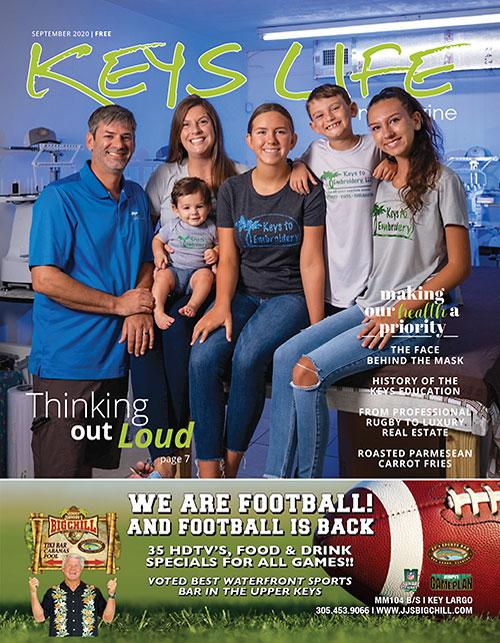 Keys Life Magazine Cover - September 2020
