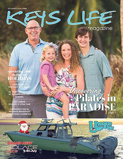 Keys Life Magazine Cover - December 2020