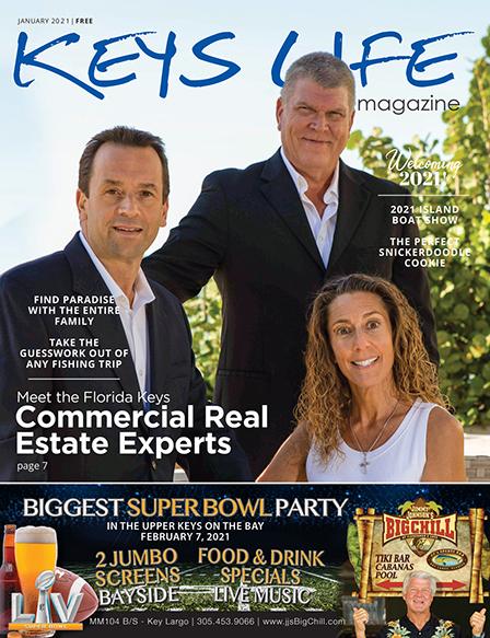 Cover of Keys Life Magazine January 2021