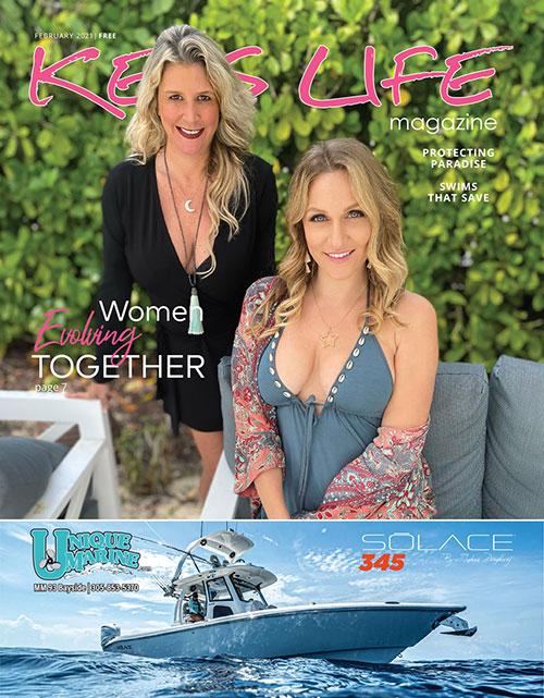 Cover of Keys Life Magazine February 2021