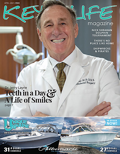 Cover of Keys Life Magazine April 2021