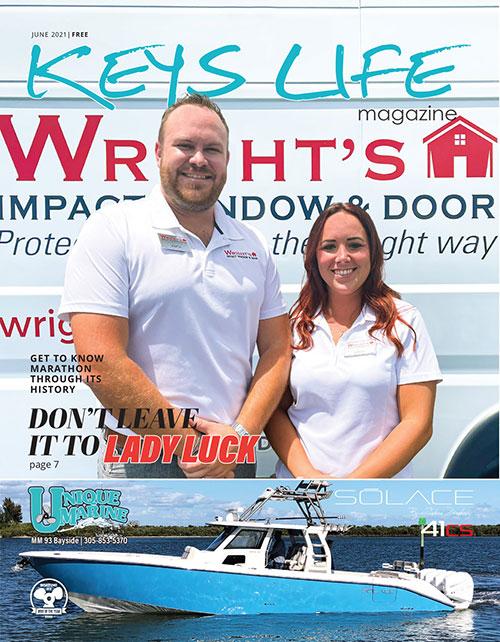 Cover of Keys Life Magazine June 2021