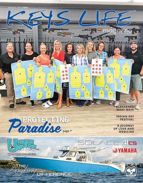Cover of Keys Life Magazine August 2021