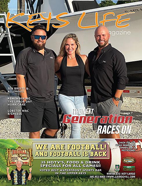 Cover of Keys Life Magazine September2021
