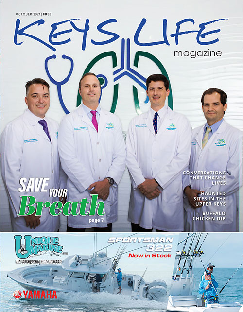 Cover of Keys Life Magazine October 2021